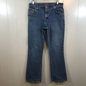 Levi's 550 Classic Relaxed Boot Cut Blue Jean 8